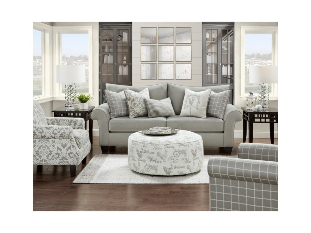 Fusion Furniture 50-00Living Room Group