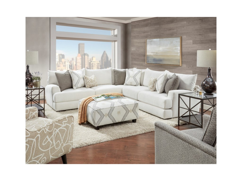 Fusion Furniture 51-00Living Room Group