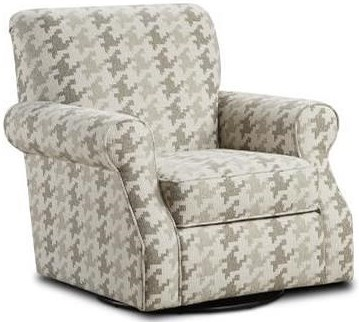 Fusion Furniture 602 Swivel Accent Chair