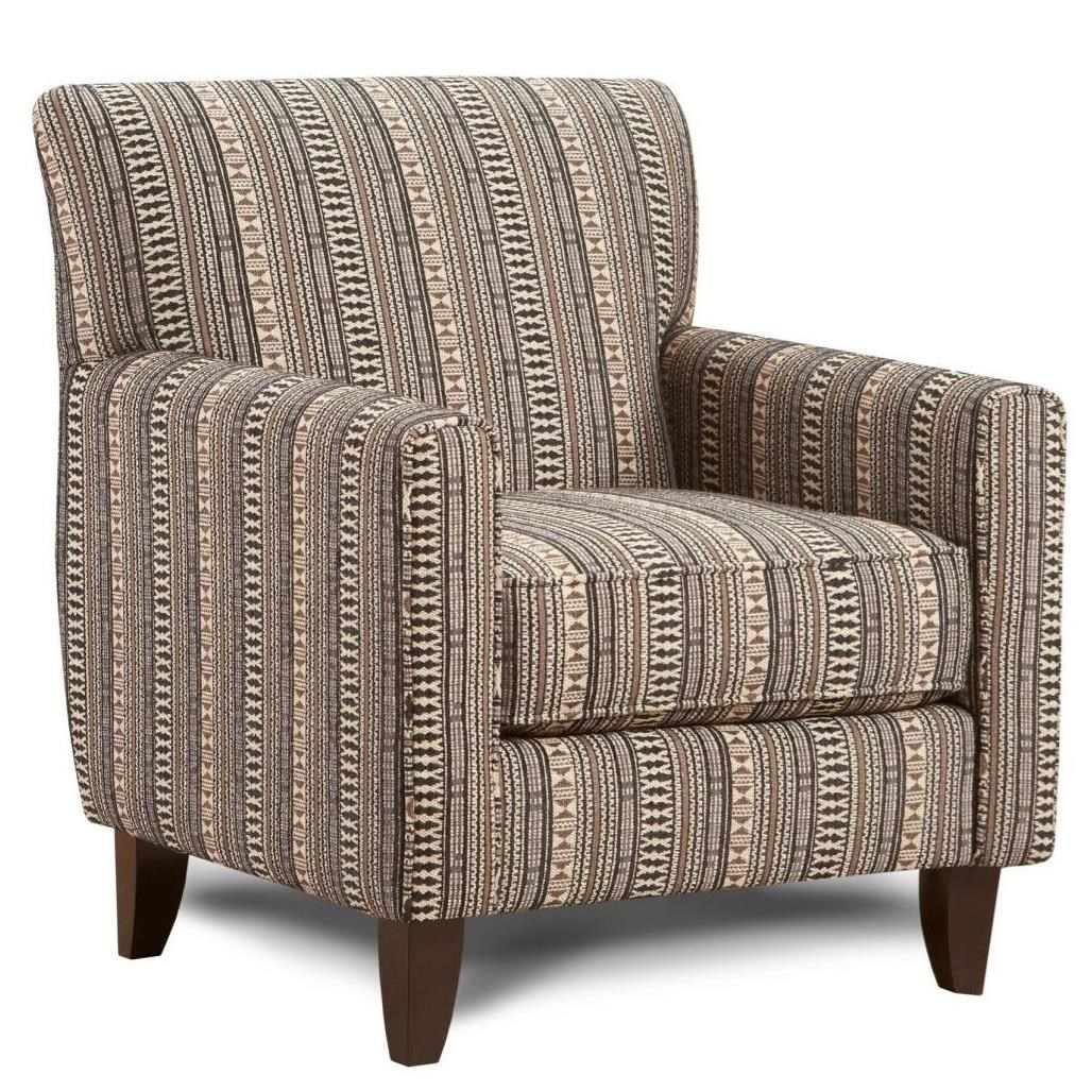 Fusion Furniture 702 Contemporary Accent Chair  sc 1 st  Lindyu0027s Furniture Company : contemporary accent chair - lorbestier.org