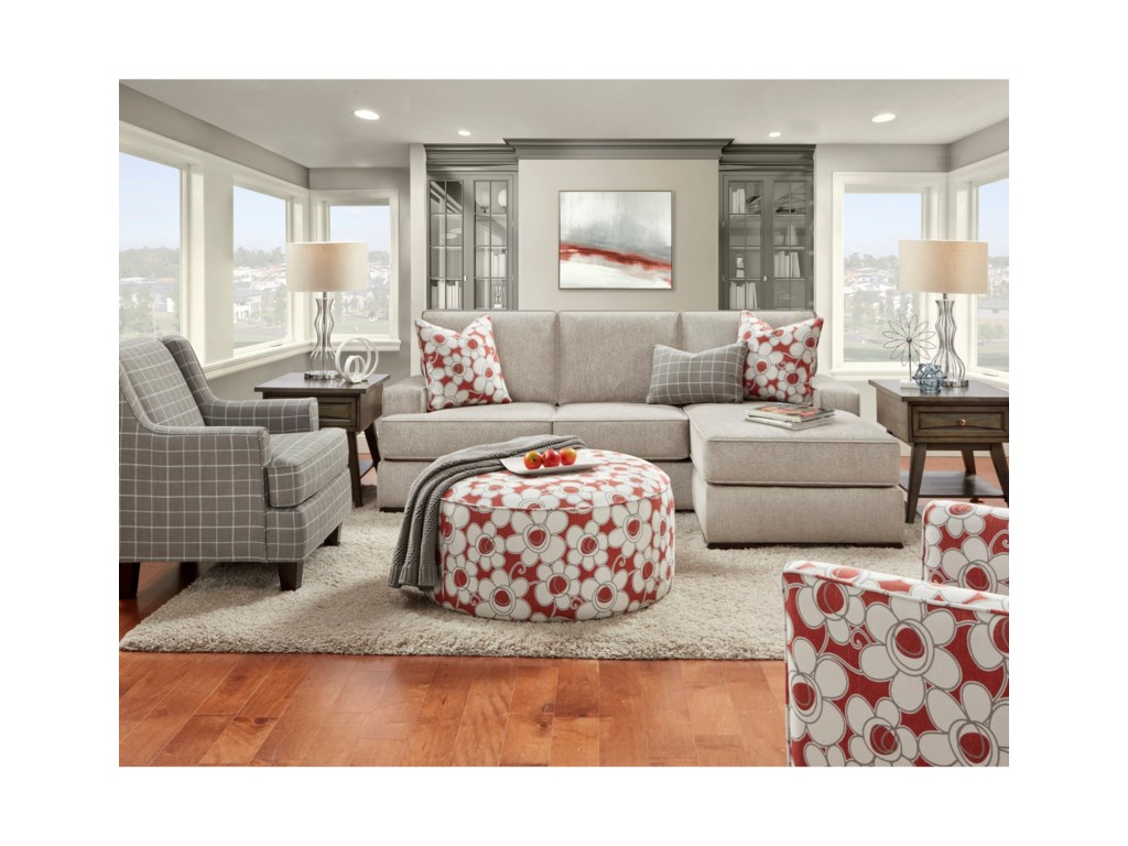 Fusion Furniture 8560Living Room Group