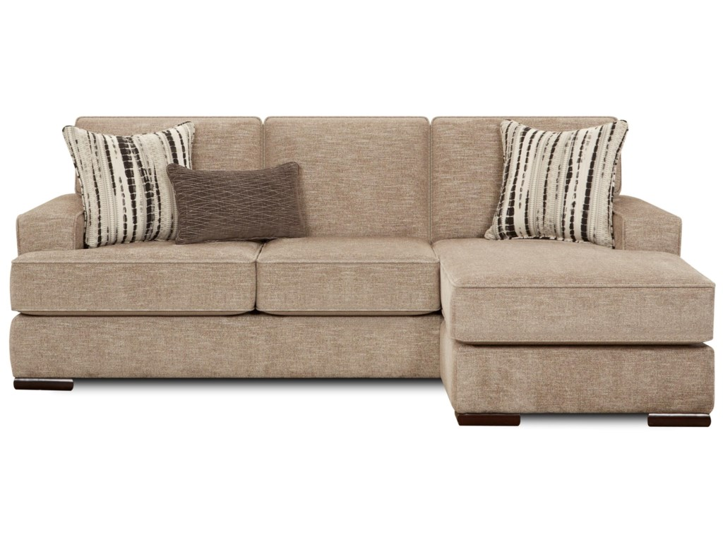 Fusion Furniture 8560Sofa/Chaise