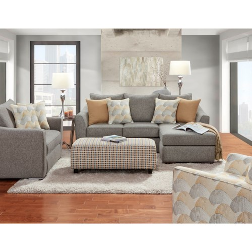 Fusion Furniture 9770 Stationary Living Room Group