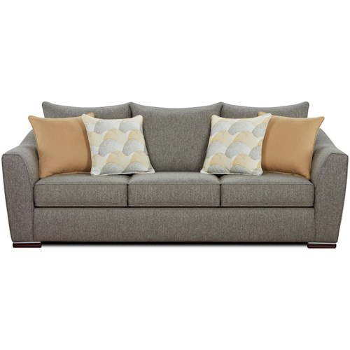Fusion Furniture 9770 Contemporary Sofa