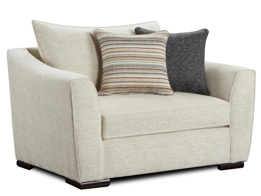 Fusion Furniture 9770Chair and 1/2