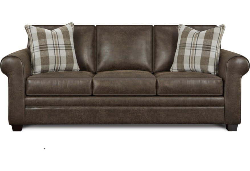 Camila Queen Memory Foam Sleeper Sofa