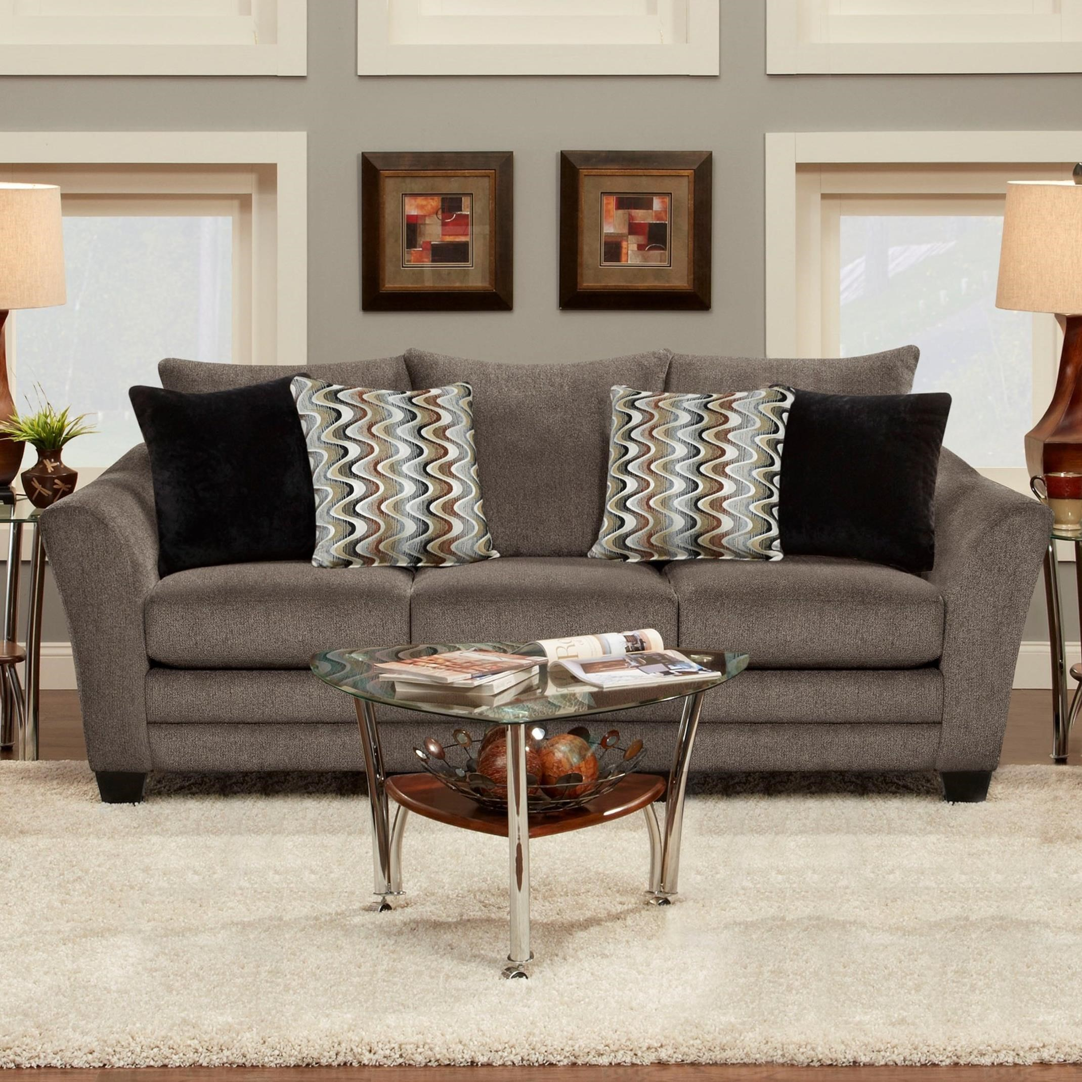Fusion Furniture 9700 Contemporary Sofa