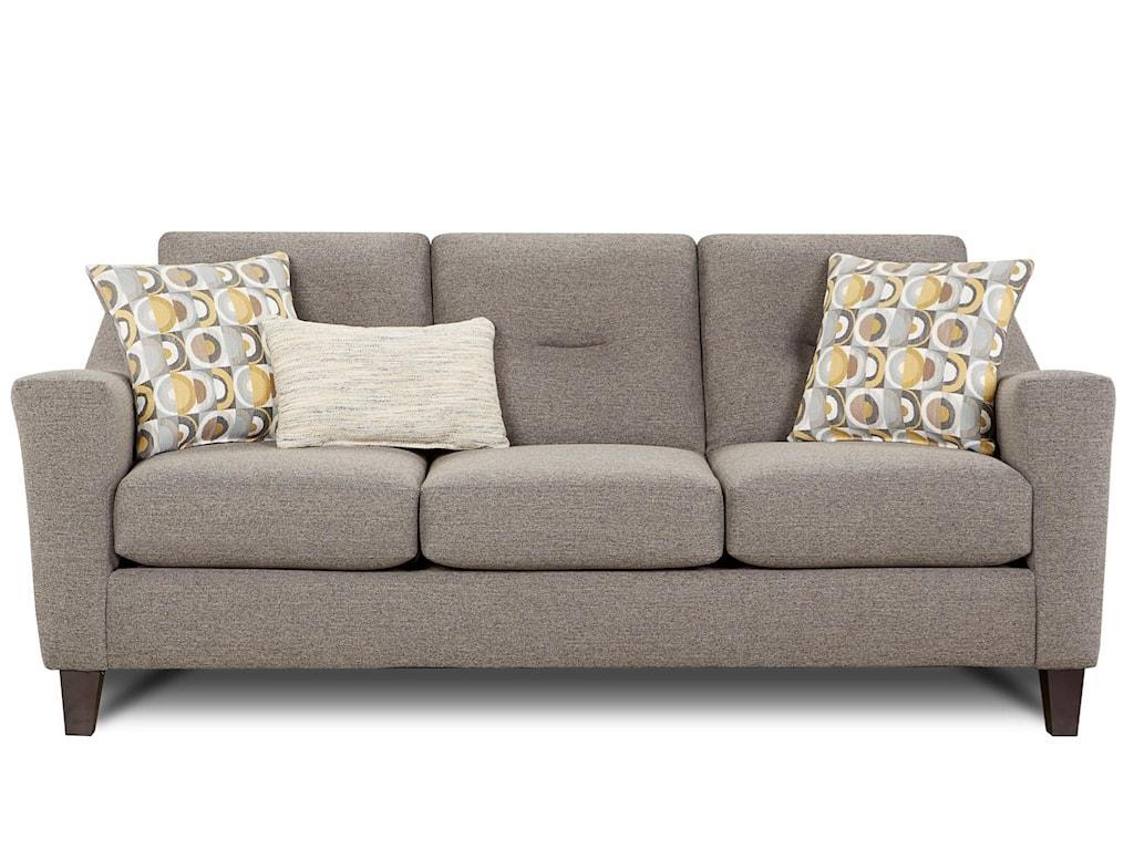 Fusion Furniture 8210 8210-KPDillist Mica Contemporary Sofa ...