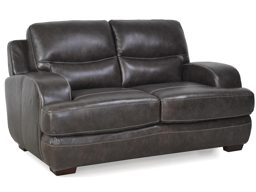 Futura Leather 10015Loveseat