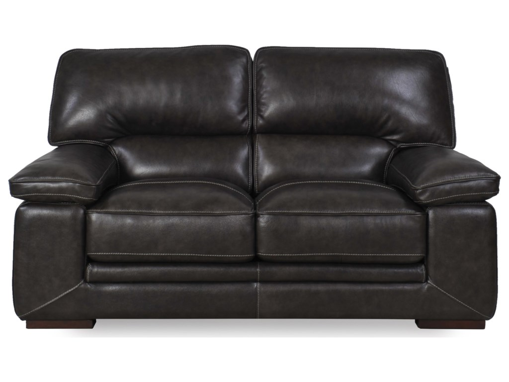 Futura Leather 10105Casual Loveseat