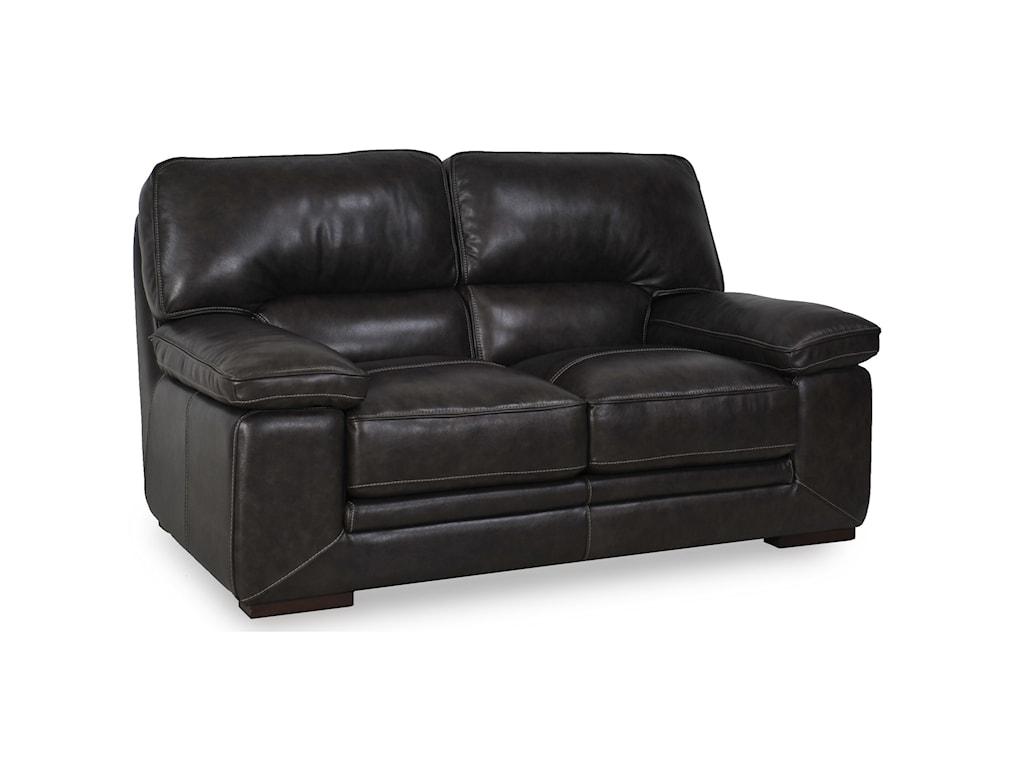 Futura Leather 10105Casual Loveseat