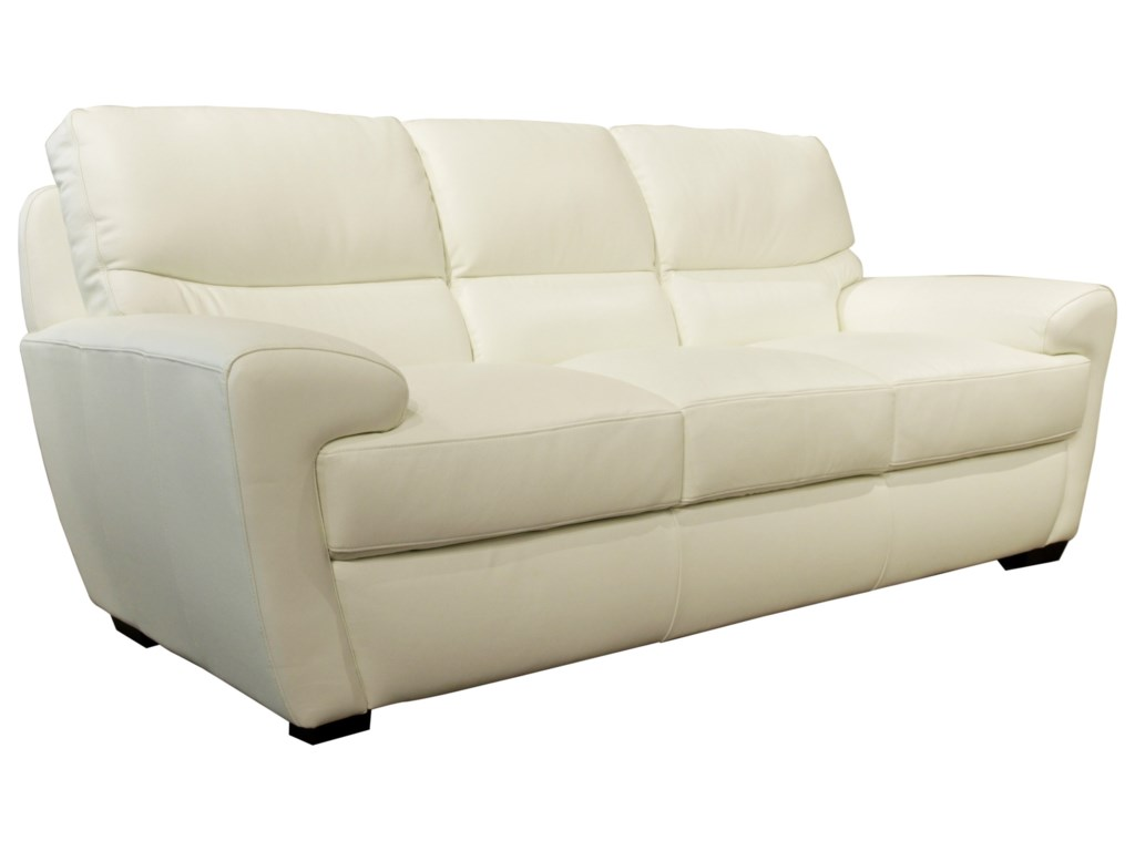 Futura Leather  Contemporary Sofa