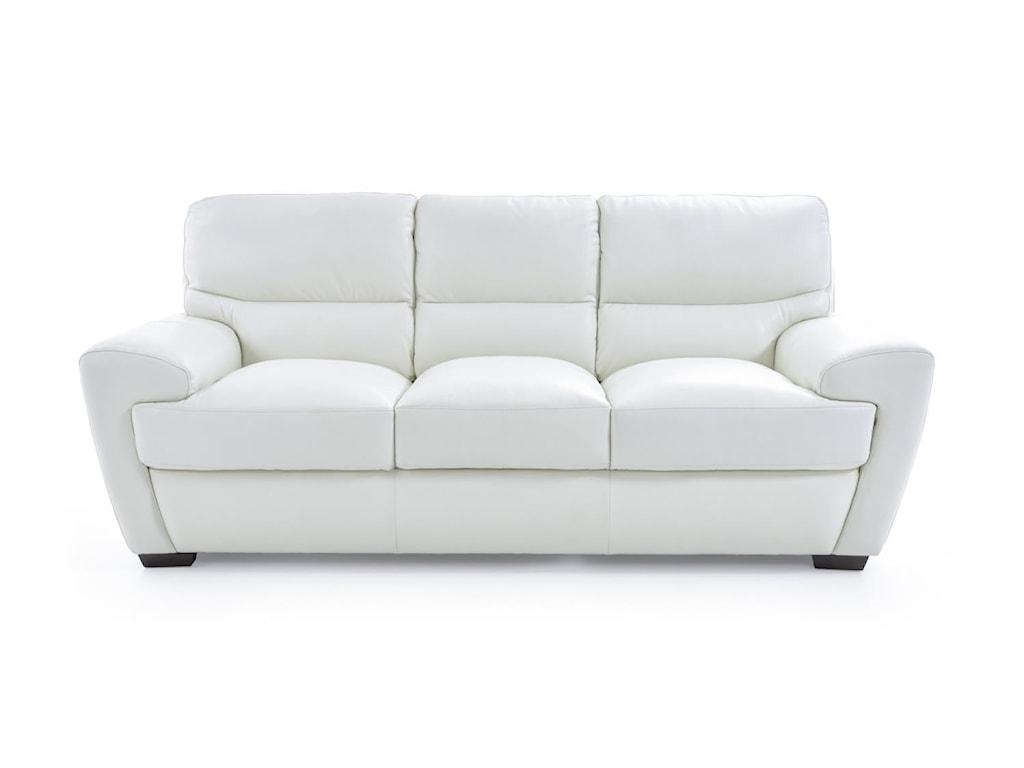 Futura Leather 10131Contemporary Sofa