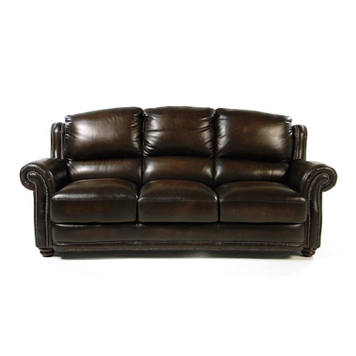 Loft Leather Kirkland Leather Sofa