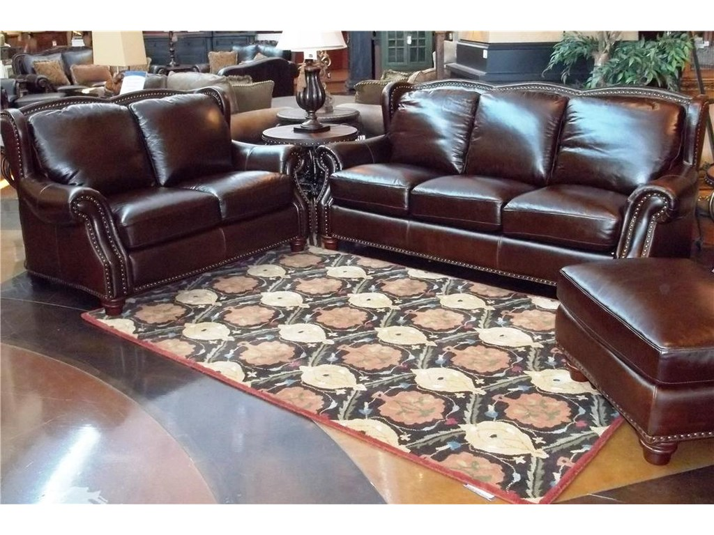 Futura Leather Rialto CoffeeRialto Coffee Leather Sofa