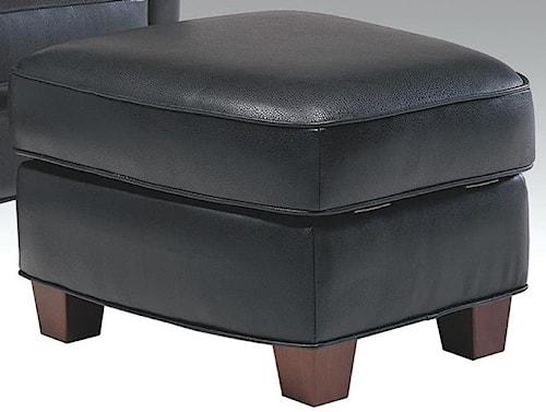 Futura Leather 6307 Casual Storage Ottoman