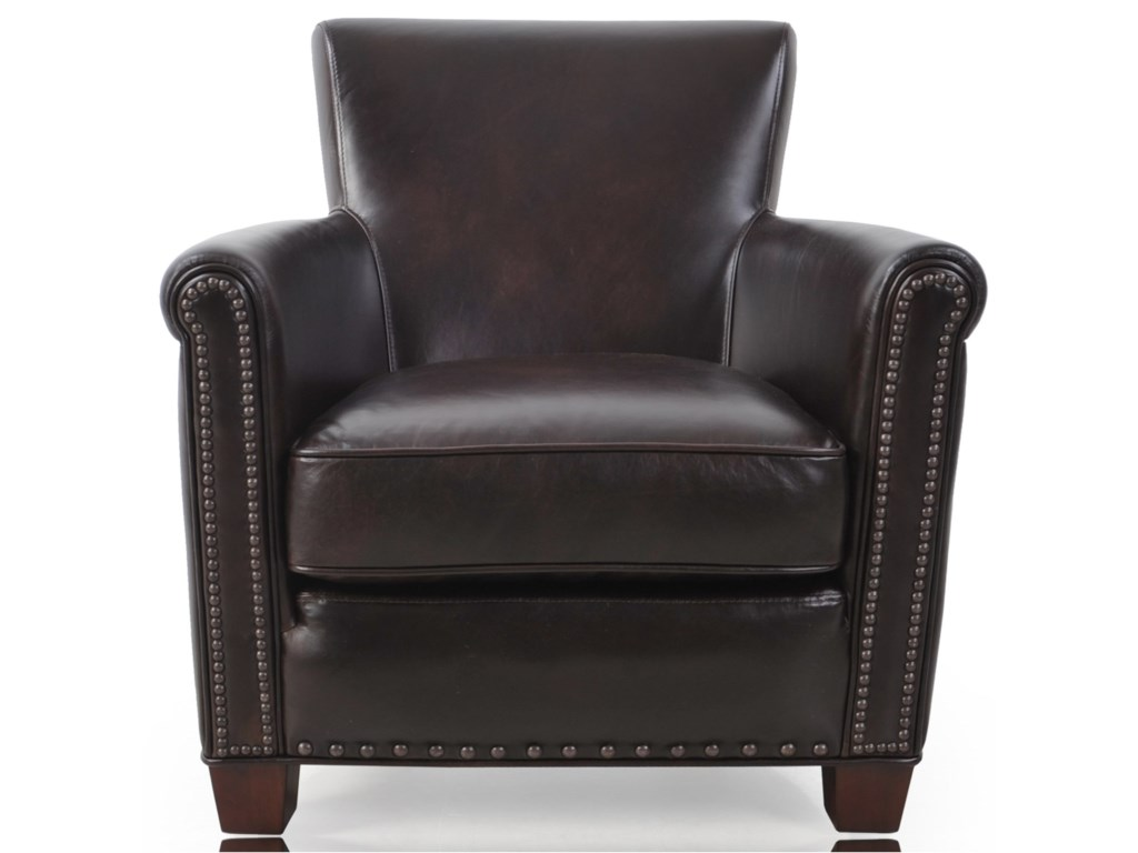 Futura Leather 6307Transitional Chair