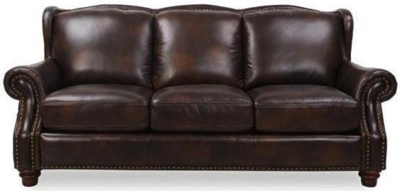Futura Leather Rancho MountainTraditional Leather Sofa