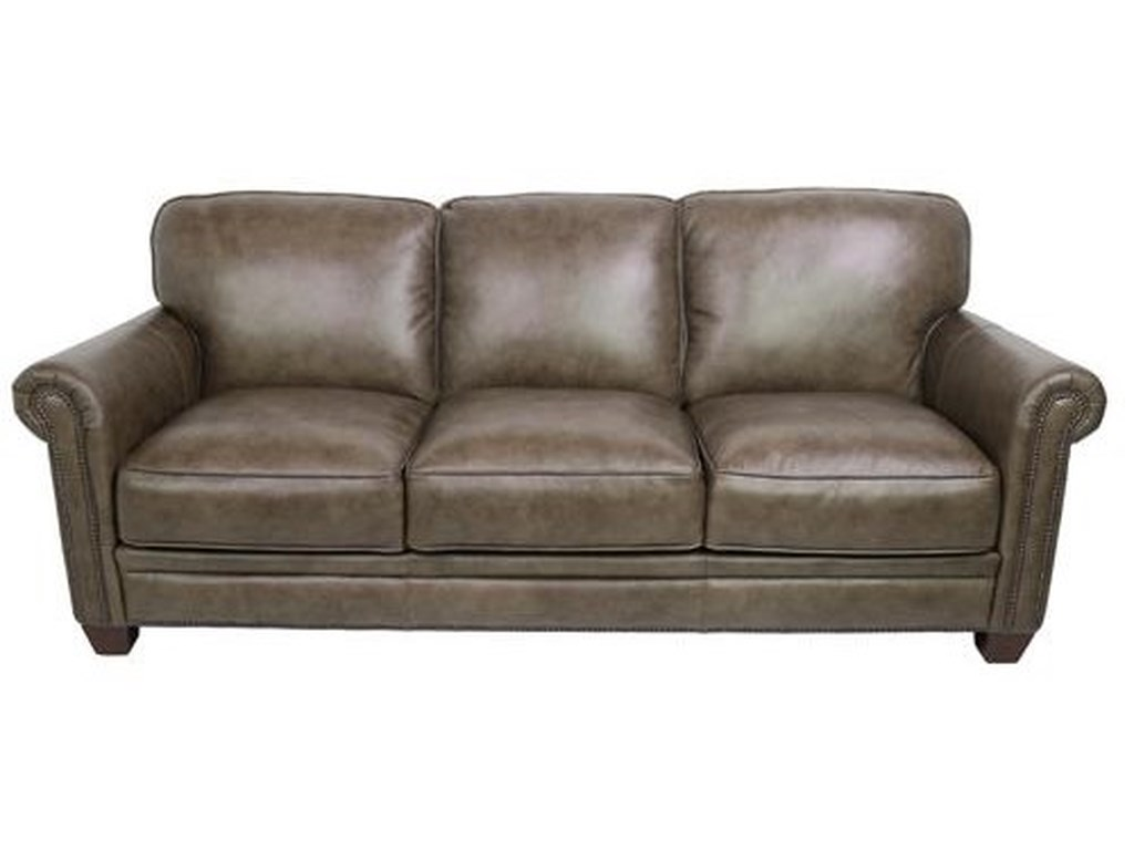 Dante Leather 7888Leather Sofa