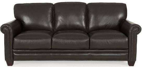Futura Leather 7888Stationary Sofa