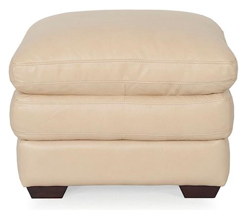 Futura Leather 8147 Ottoman