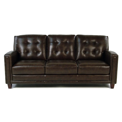 Loft Leather Winfield Leather Sofa