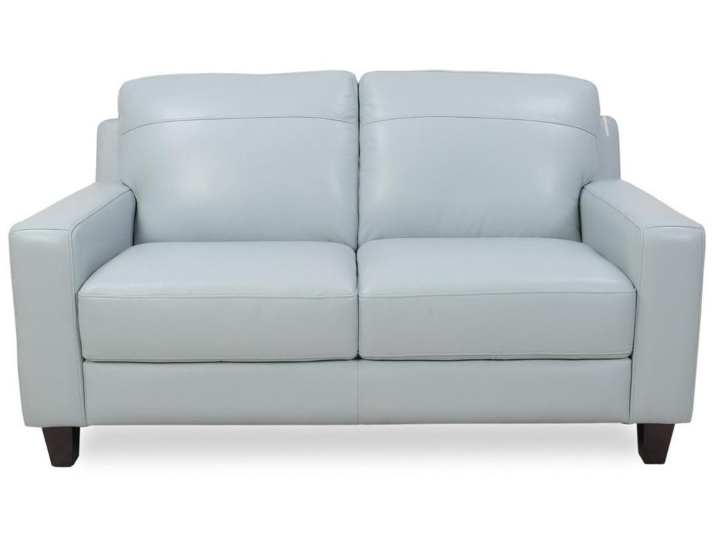 Futura Leather 8689Leather Loveseat
