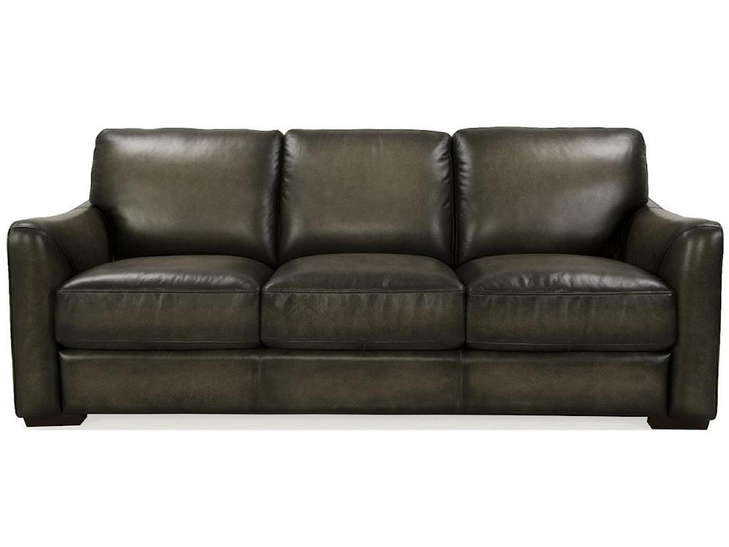 Futura Leather 8944Transitional Sofa