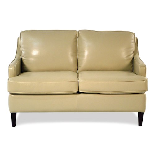Loft Leather Ally Leather Loveseat
