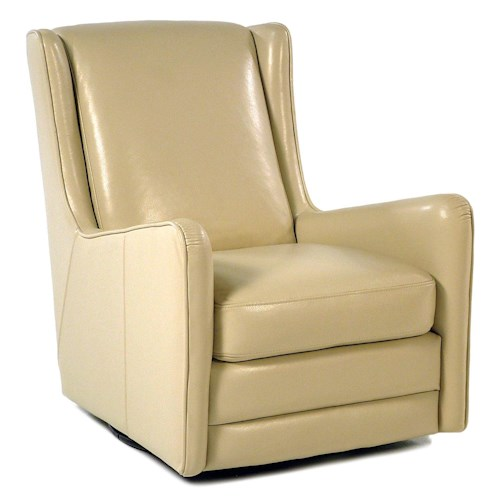 Loft Leather Ally Swivel Chair