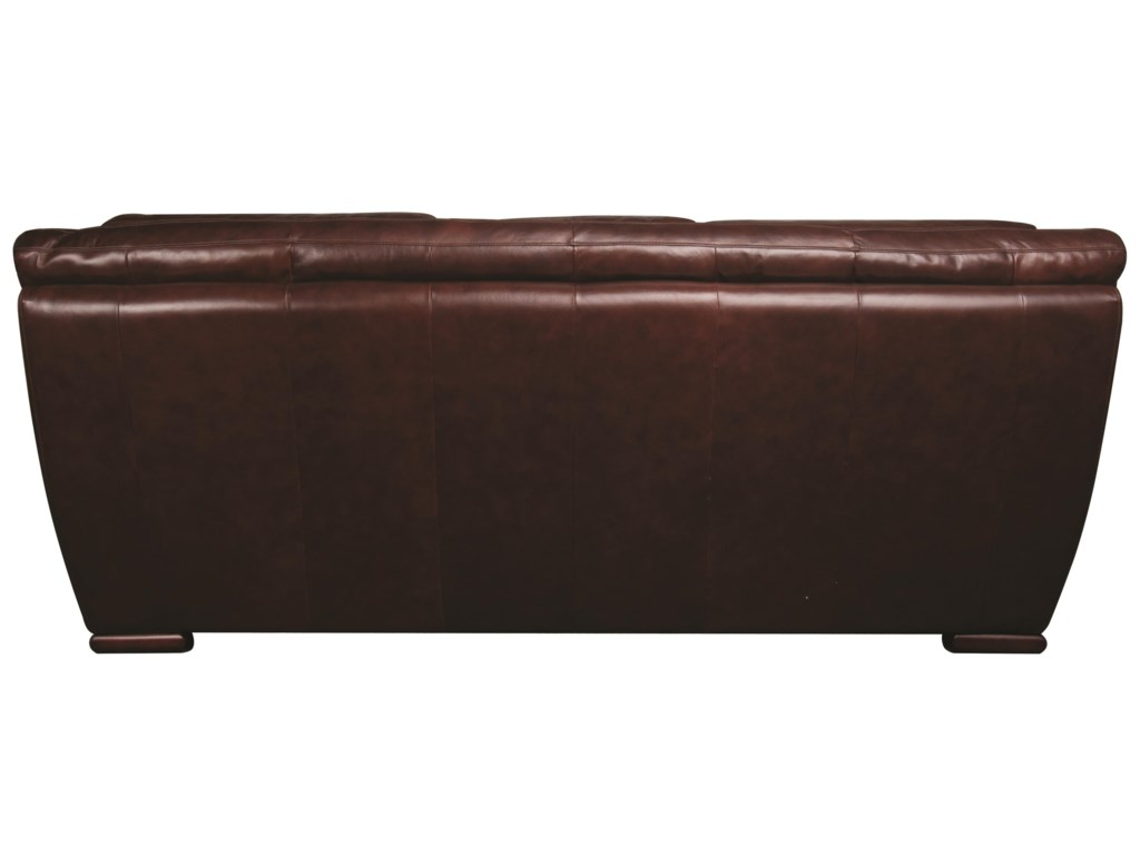 Morris Home Furnishings AustinAustin 100% Leather Sofa