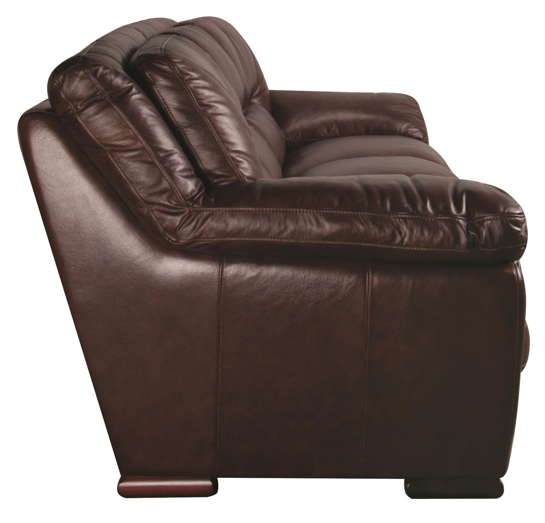 ... Morris Home Furnishings AustinAustin 100% Leather Sofa ...