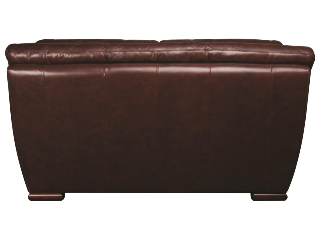 Morris Home Furnishings AustinAustin 100% Leather Loveseat