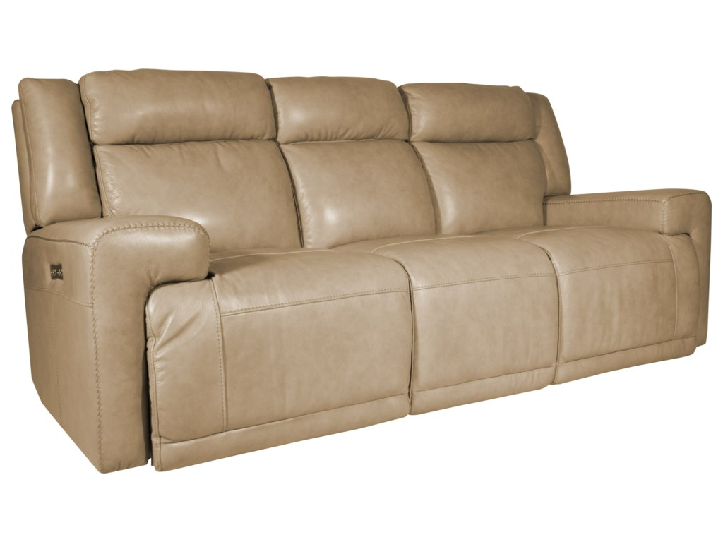 Futura Leather BurkePower Reclining Sofa