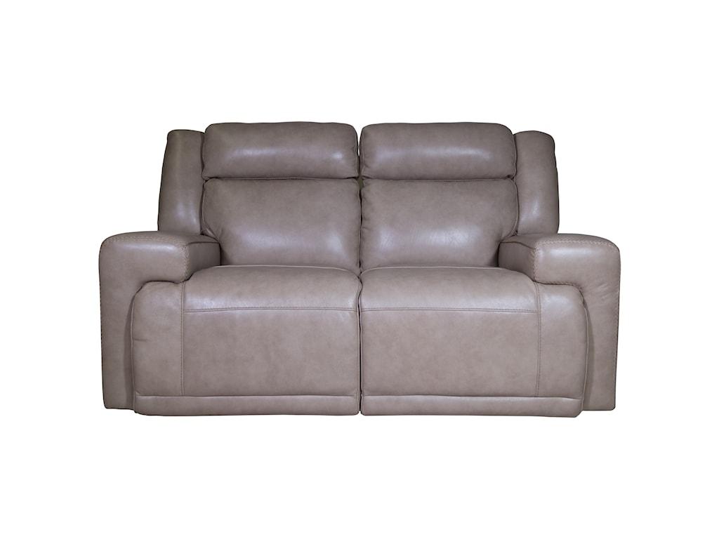 power dual tan home american loveseat flexsteel sienna console reclining