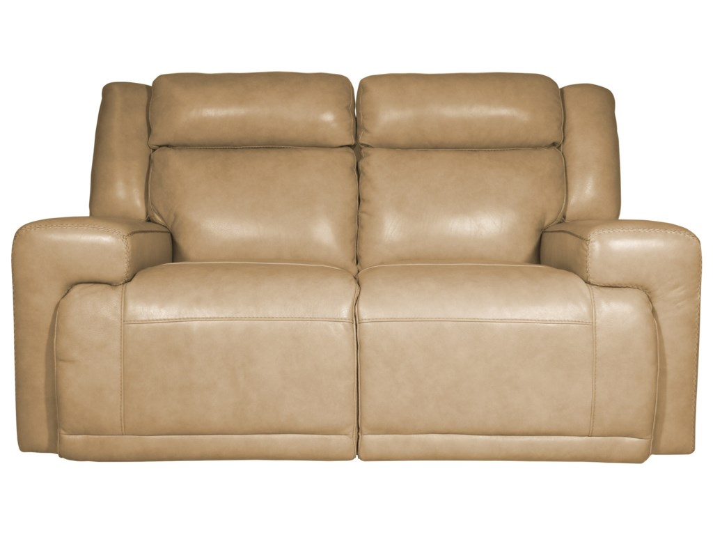 Futura Leather BurkePower Reclining Loveseat