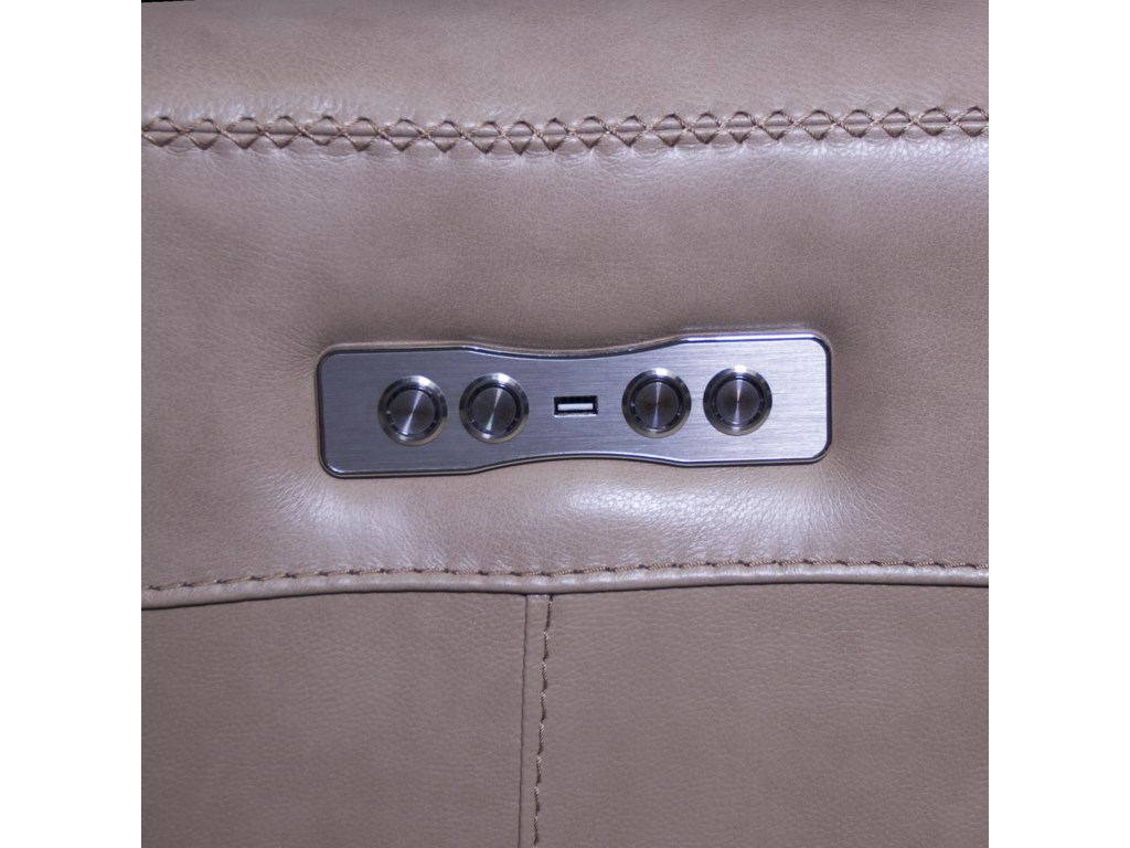 Futura Leather BurkePower Recliner
