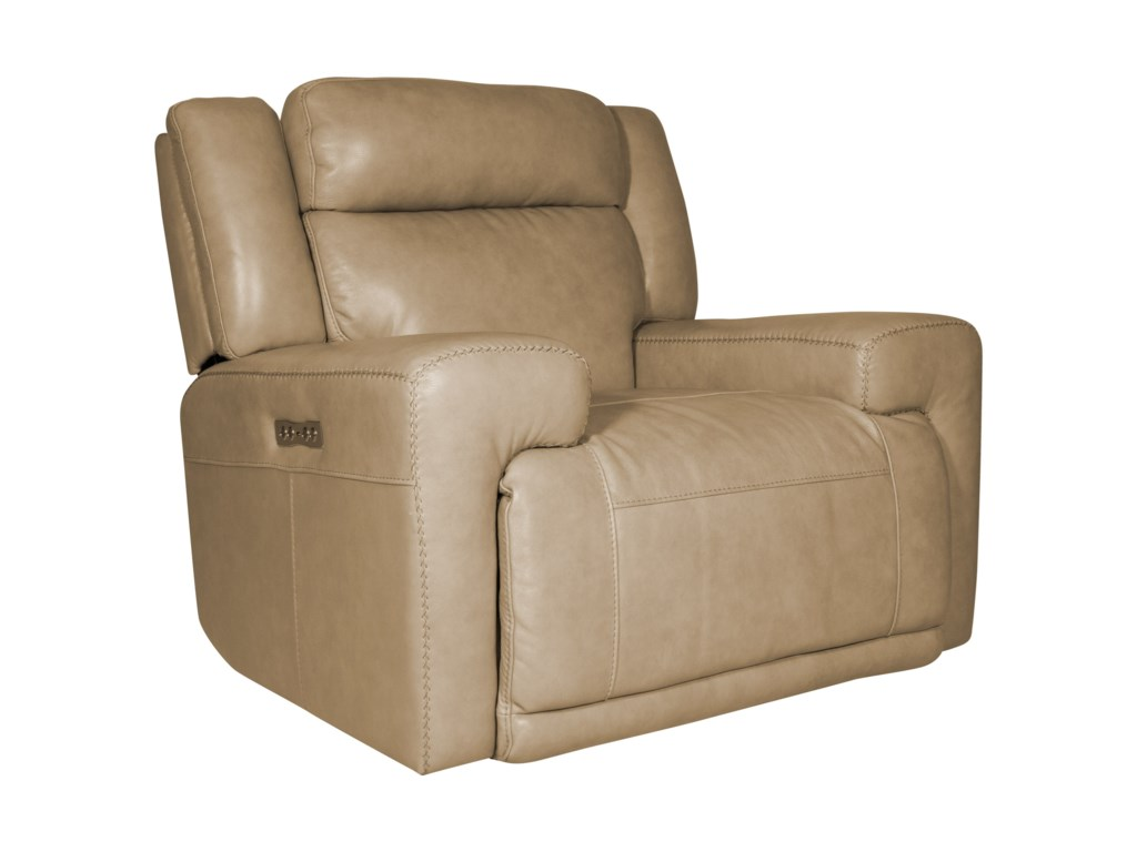 Futura Leather BurkePower Recliner