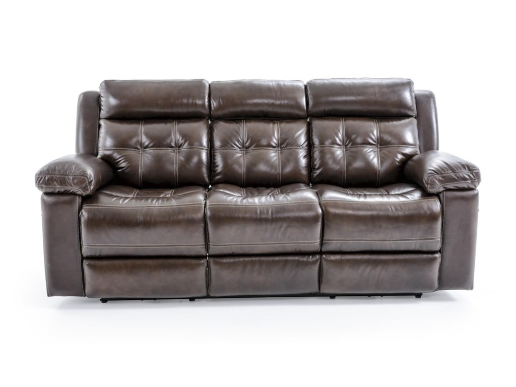 Futura Leather E1267Electric Motion Sofa