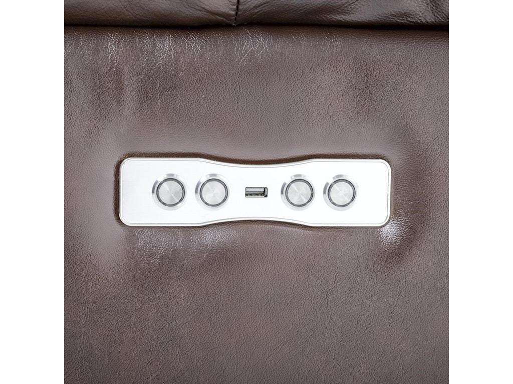 Futura Leather E1267Electric Motion Sofa