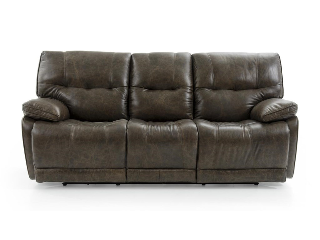 Futura Leather E1288 E1288-317 2185H Casual Electric Motion Sofa ...