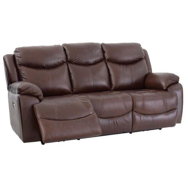 Delightful Futura Leather E1307Reclining Sofa