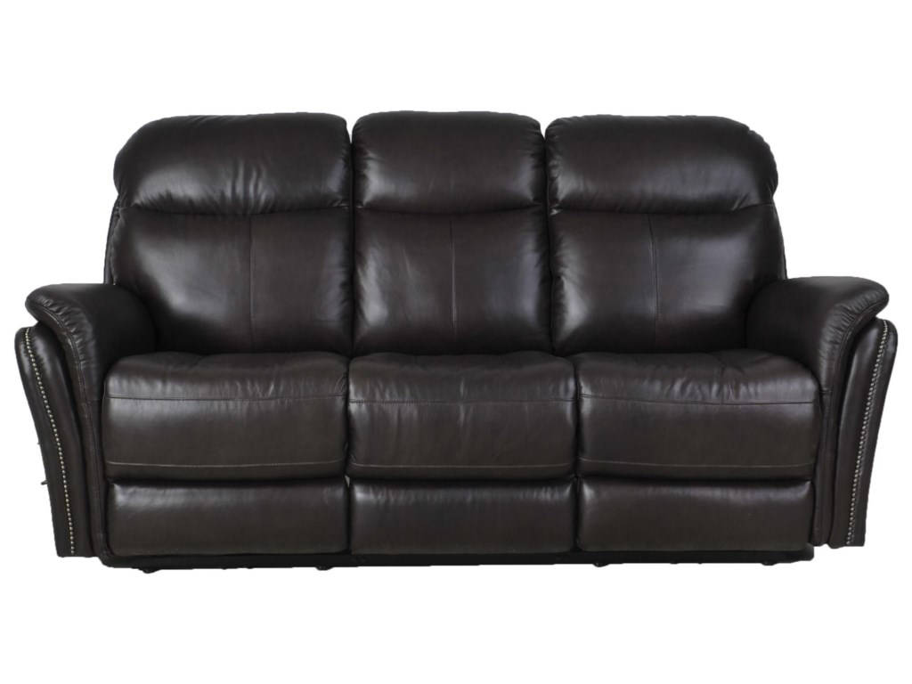 Futura Leather E1309Leather Manual Reclining Sofa
