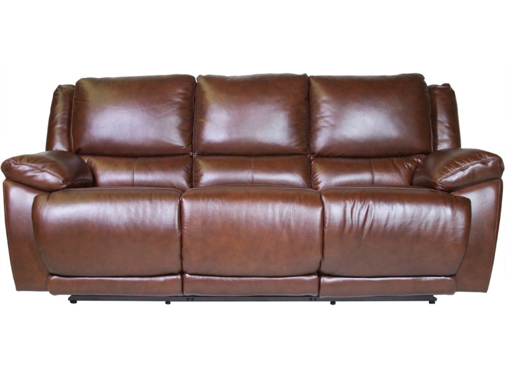 Futura Leather Curtis Reclining Sofa