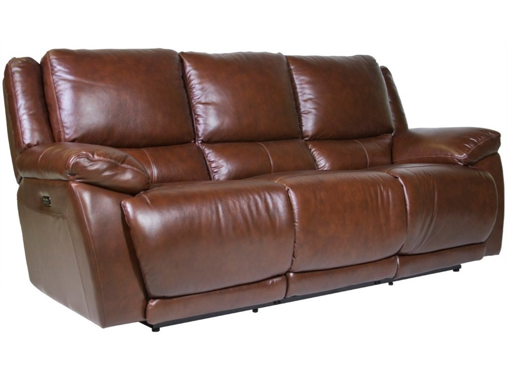Futura Leather CurtisPower Reclining Sofa
