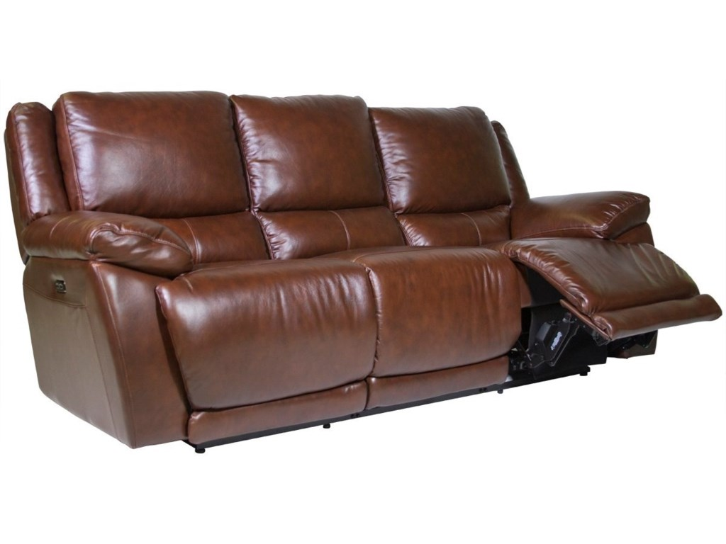 Futura Leather CurtisPower Reclining Sofa