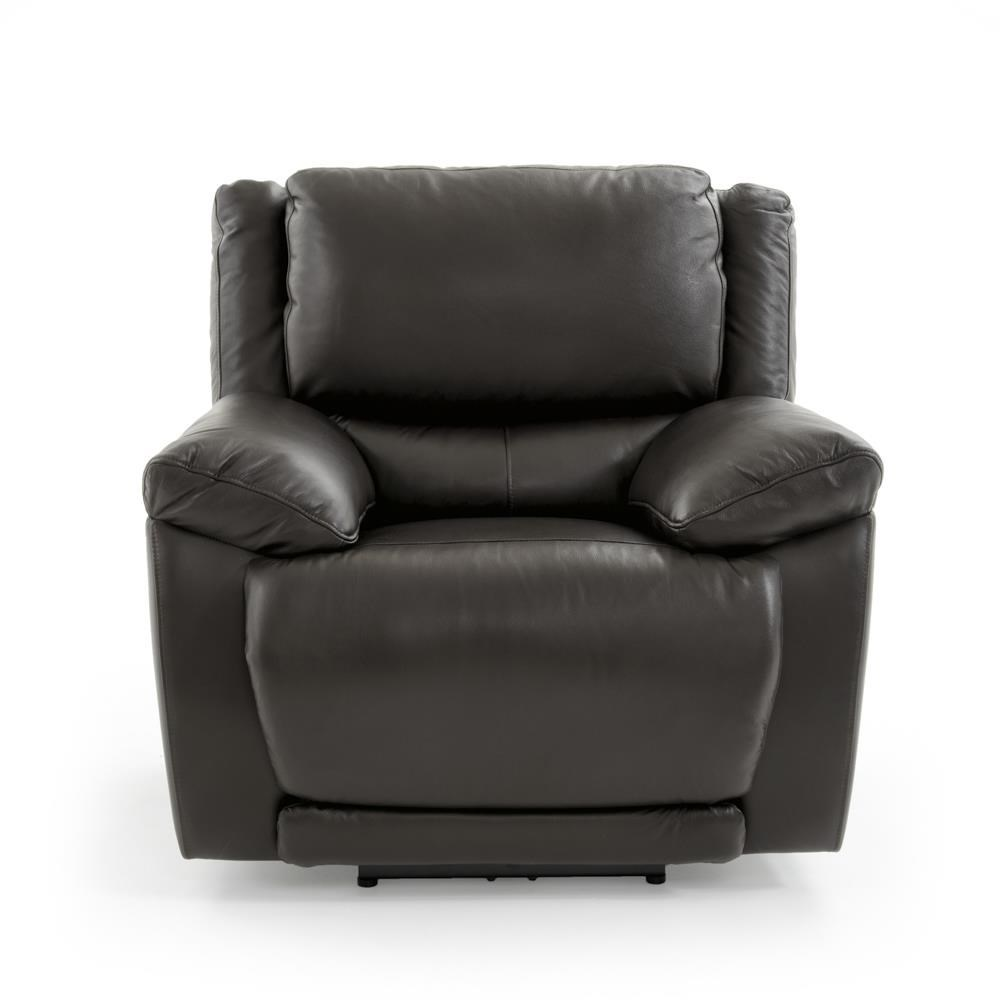 Futura Leather E1358 Casual Electric Recliner with Power Headrest - Baeru0027s Furniture - Three Way Recliners  sc 1 st  Baeru0027s Furniture & Futura Leather E1358 Casual Electric Recliner with Power Headrest ... islam-shia.org