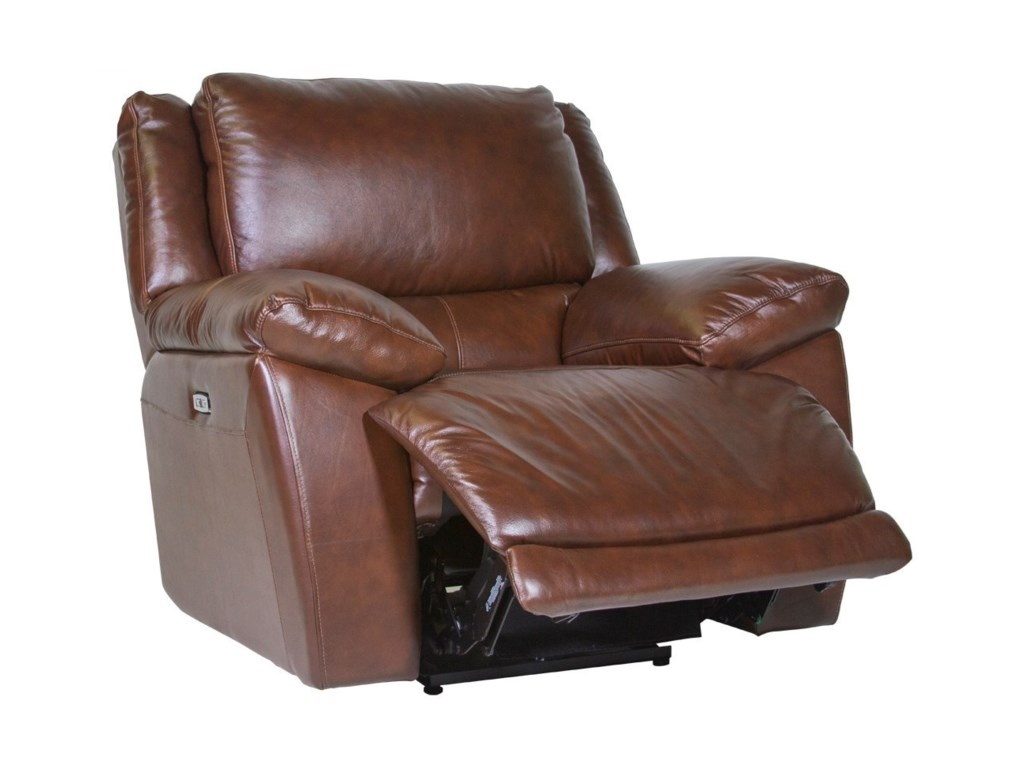 Futura Leather CurtisPower Recliner