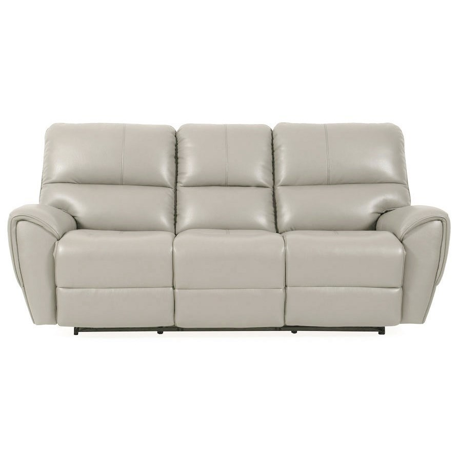 Casual Power Reclining Sofa with Power Headrest and USB Port