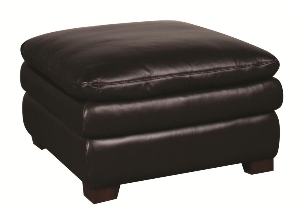 Futura Leather EdisonEdison Leather Ottoman